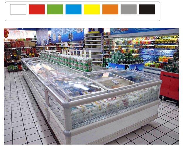 Tại sao nên mua tủ đông nắp kính để trưng bày bán hàng?